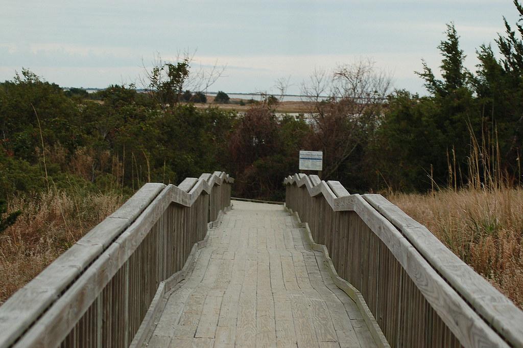 Entrance To Radio Island Beach