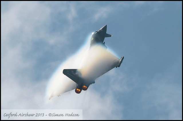 20,000th Picture - Cosford Airshow 2013 - RAF Eurofighter Typhoon