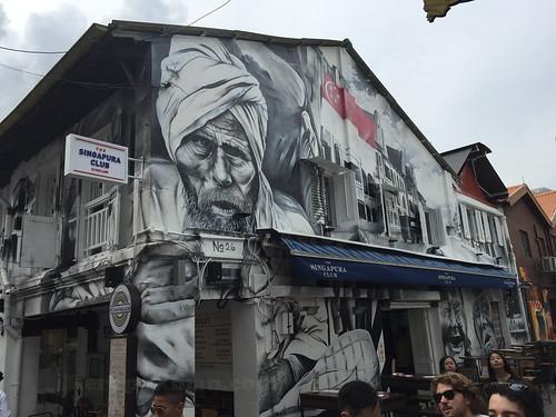 Mural at Haji Lane | by keropokman