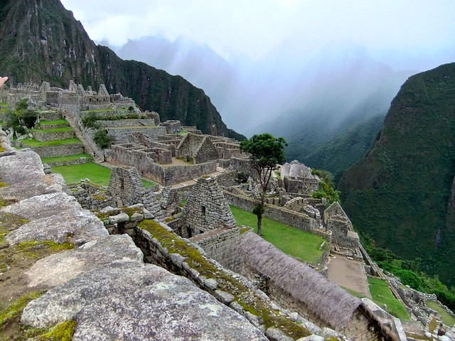 A different view - Machu Pichu