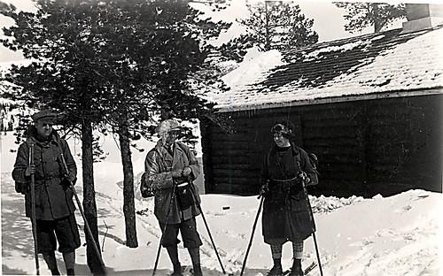 Vidkun Quisling, Jørgen Quisling og Ingrid Quisling (?), 1930-tallet.