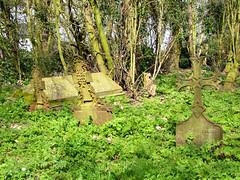cast iron gravemarkers