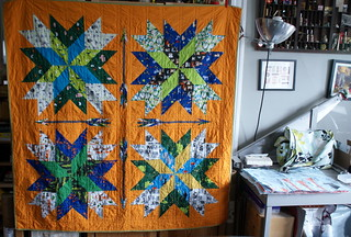 Orion + Ed Emberley Quilt