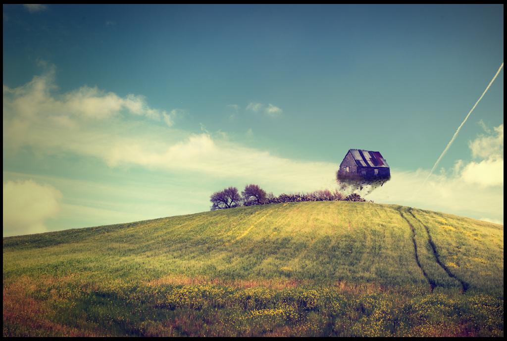 il vento sul crinale talvolta è cosi forte...