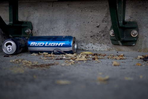 Bud Light and Peanuts | by Au Kirk