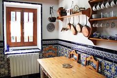 Cocina. Casas Rurales Pradina