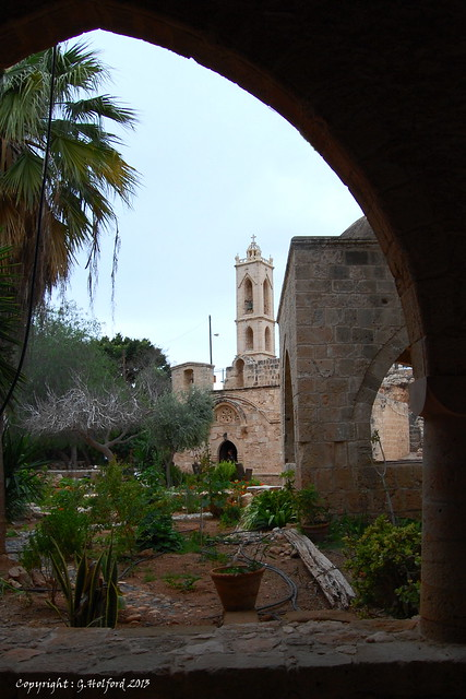 Archway to the Monastry