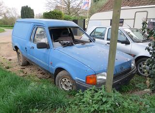 Ford Escort Mk4 1.8D Van | by Spottedlaurel