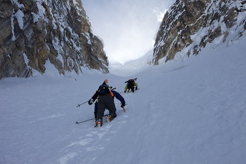 Mon, 2013-04-22 13:15 - Mt. Stanley, North Face and Waterman Couloir with Joshua Lavigen and Ali Haeri