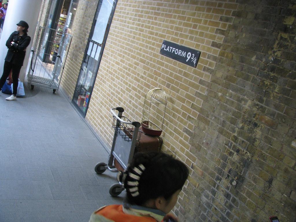 London, Platform 9 3/4s