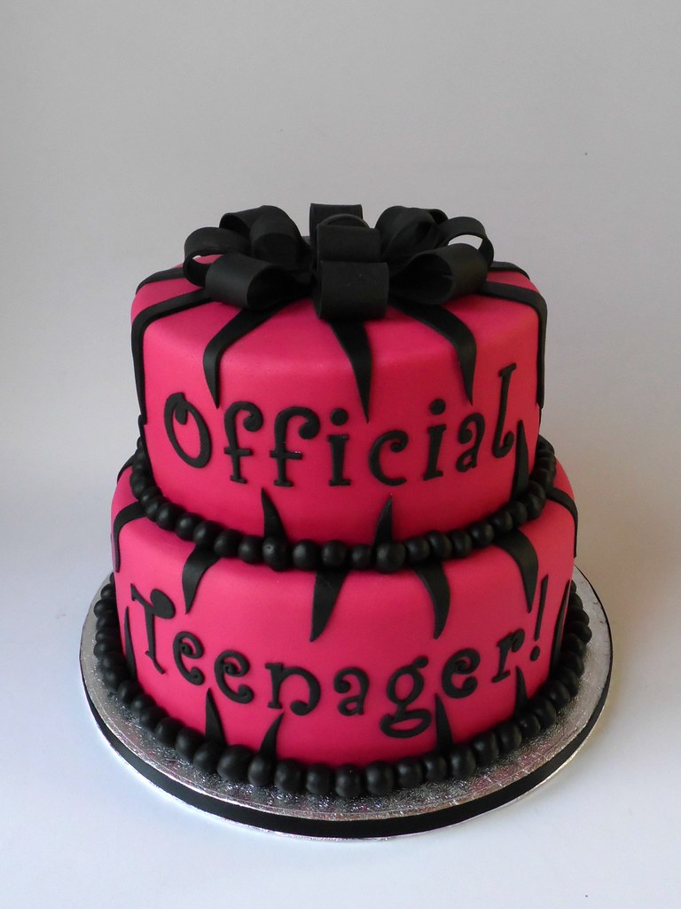 By Fairy Dust Bakery Official Teenager Birthday Cake