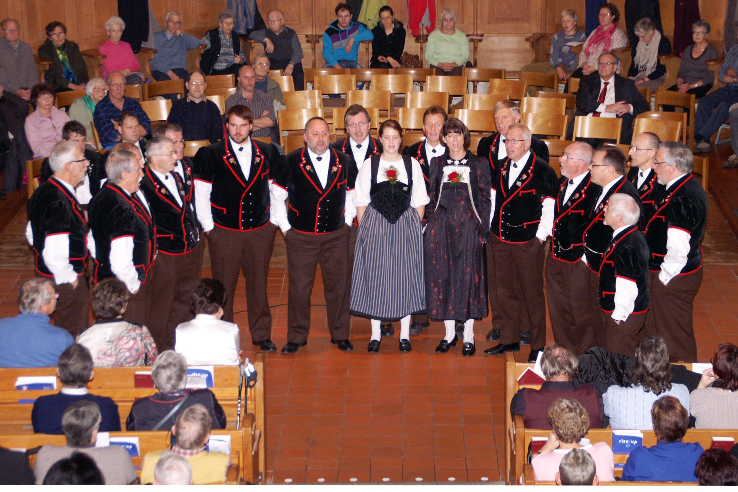 Volkstümliches Kirchenkonzert 2012