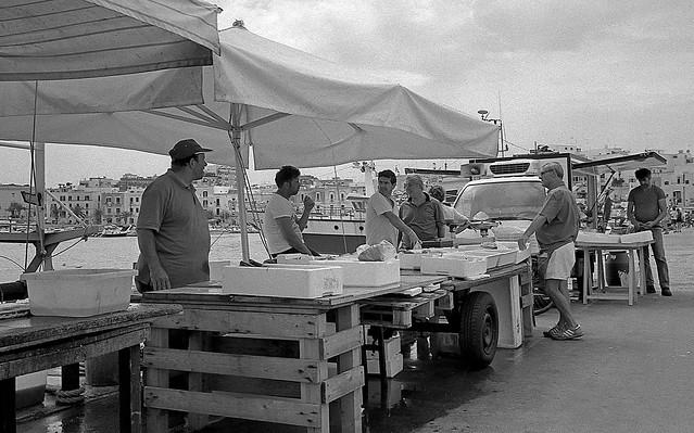 Fishermen and fishmongers - Trani