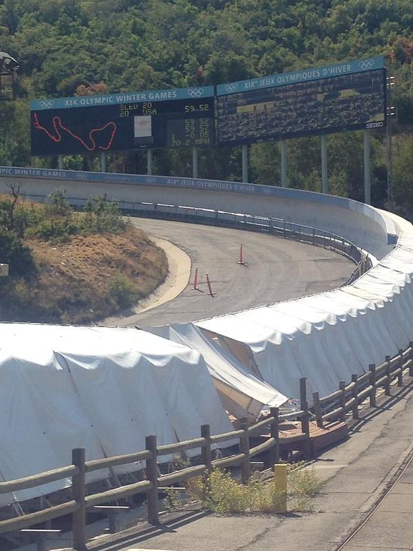 Bobsled track, Utah Olympic Park