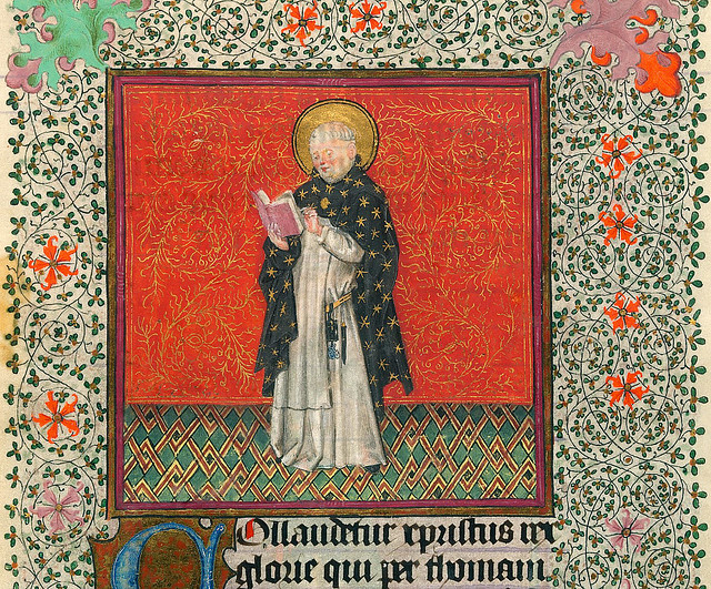 Thomas Aquinas - NYC Pierpont Morgan Library - Hours of Catharina of Cleves MS M917 pp286-287