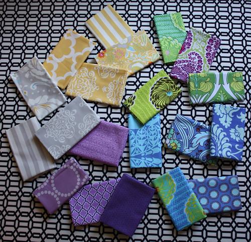 Kaleidoscope Quilt Fabrics   by Everyday Fray