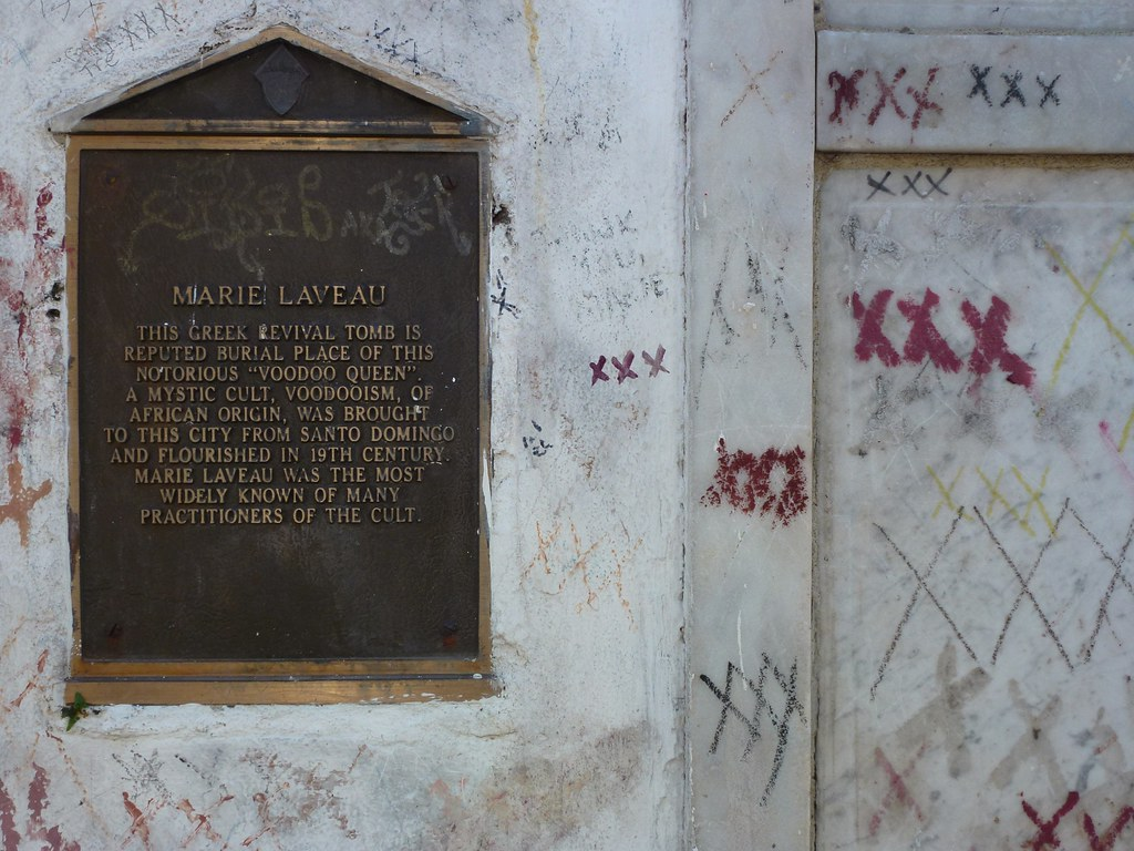 Tomb of Marie Laveau | The renowned Voodoo priestess Marie ...