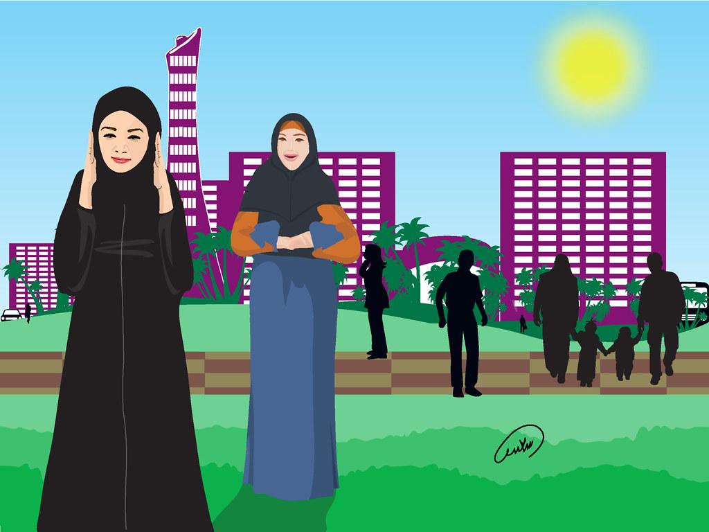 جدل فقهي بسبب صلاة النساء في الحدائق العامة الطلحاوي صلاة Flickr