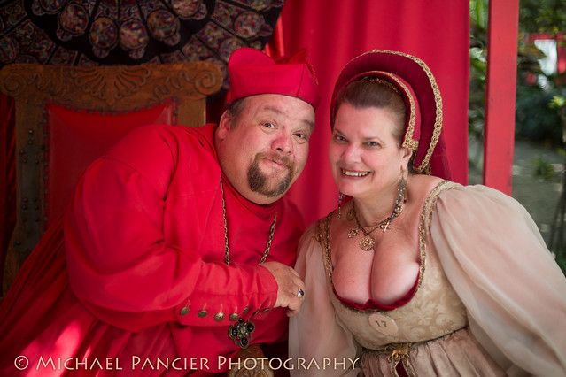 NOBODY expects the Spanish Inquisition! - Ren Fest Miami 2013