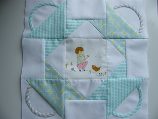 Bunny Hill Design  block sewn by Dawn