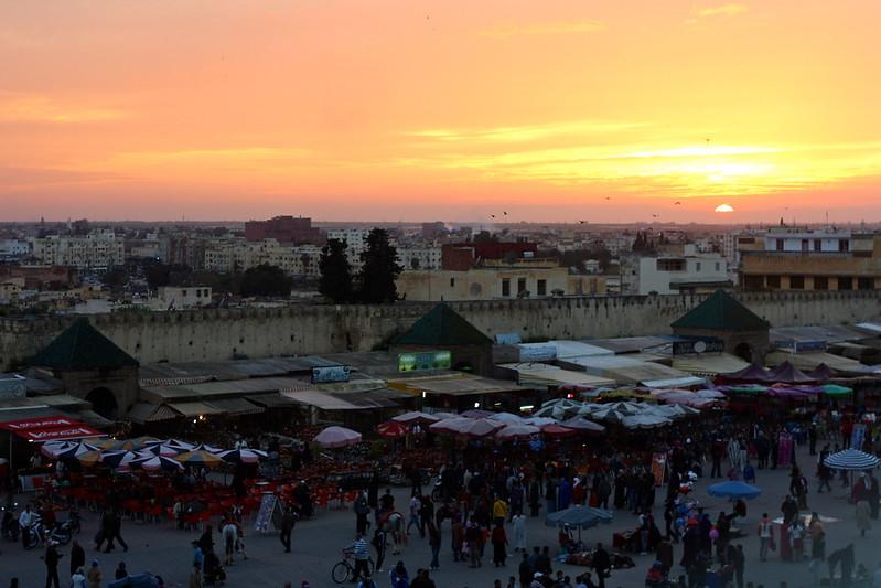 Place el-Hedim, Meknes