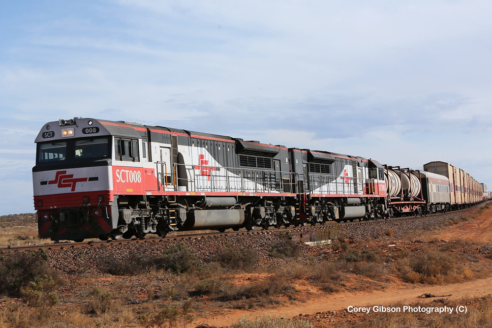 SCT008 & SCT005 west of Port Augusta by Corey Gibson