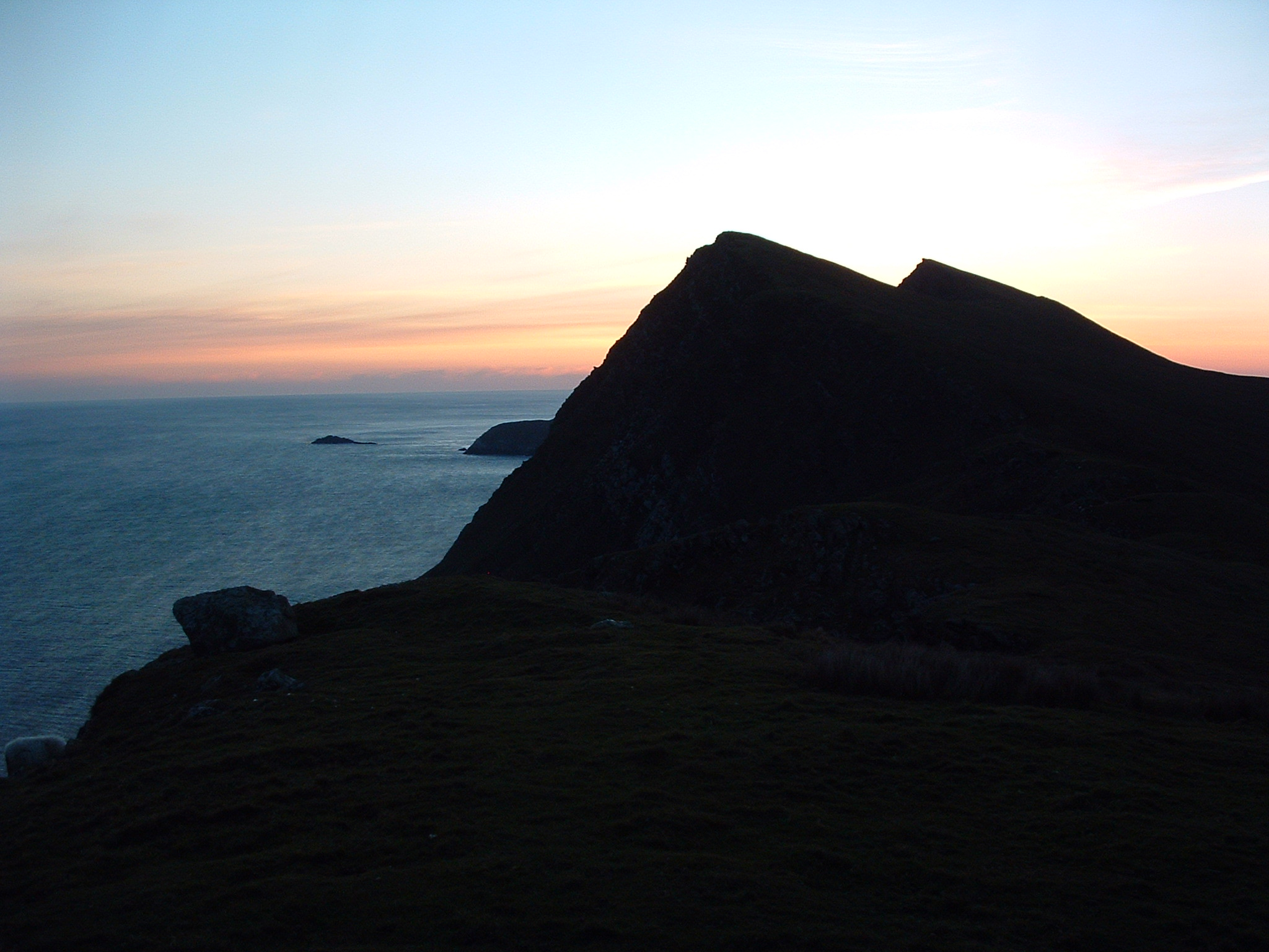 Moytoge Head Lookout Post, Keem Bay, Achill Island, Co. Mayo, Ireland