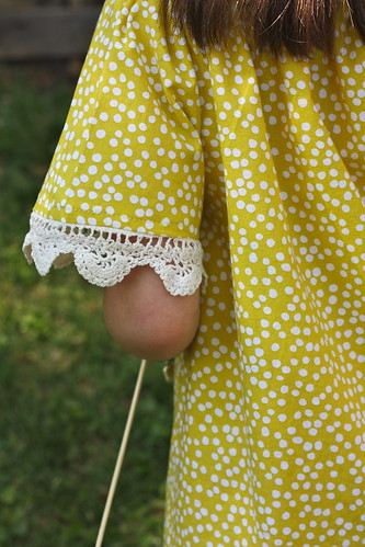 peasant blouse with crocheted trim KCW day 6 | by Buzzmills