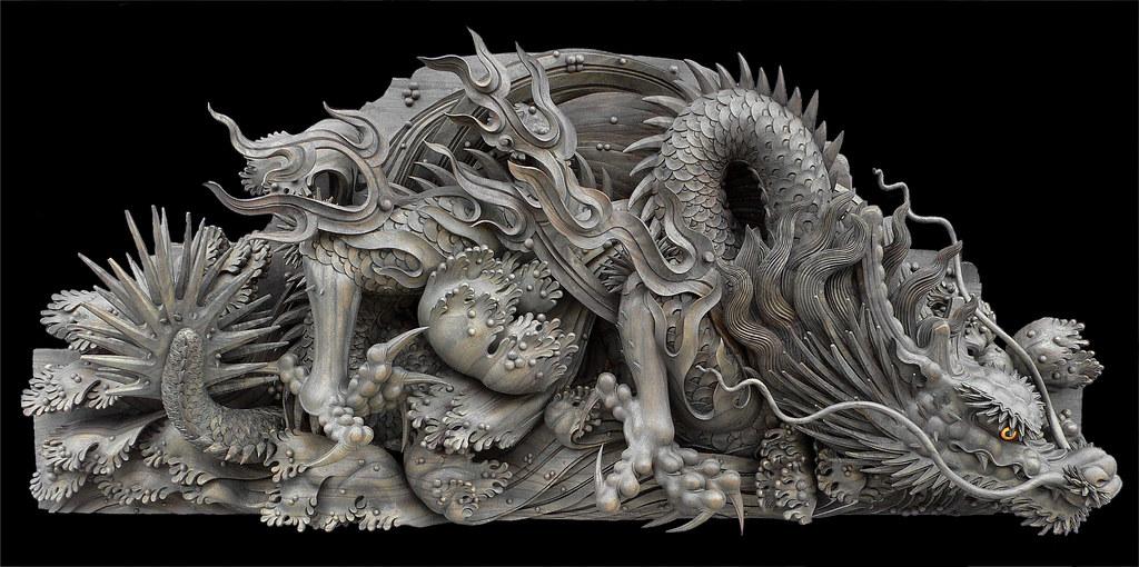 龍彫刻 Dragon - 念佛宗(念仏宗無量寿寺)  兵庫県加東市031