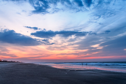 ocean sky beach colors clouds sunrise dawn nc northcarolina atlantic