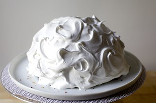 meringue swirled, like an old-school shower cap | by smitten kitchen