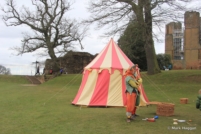 The fools at Kenilworth Castle