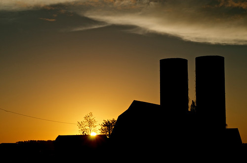 silhouette barn sunrise de outdoors outdoor silo silos delaware lewes lewesde