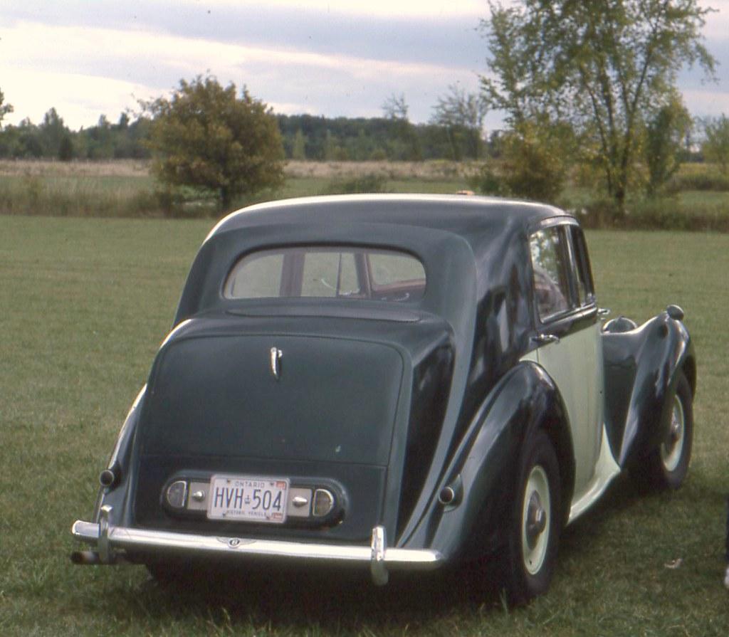 1952 Bentley Mark VI 4 Door