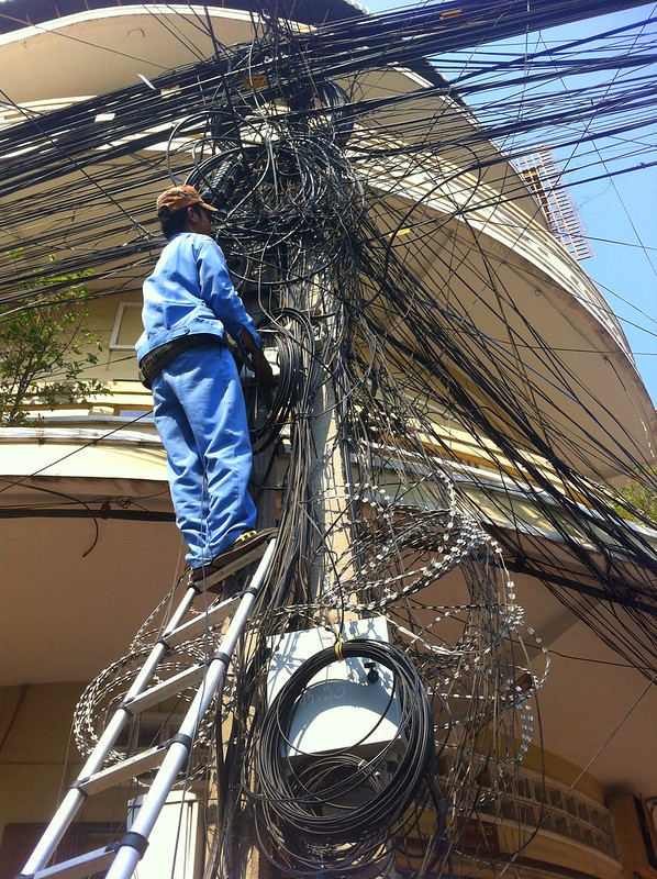 Vietnamese Telecommunication Chaos