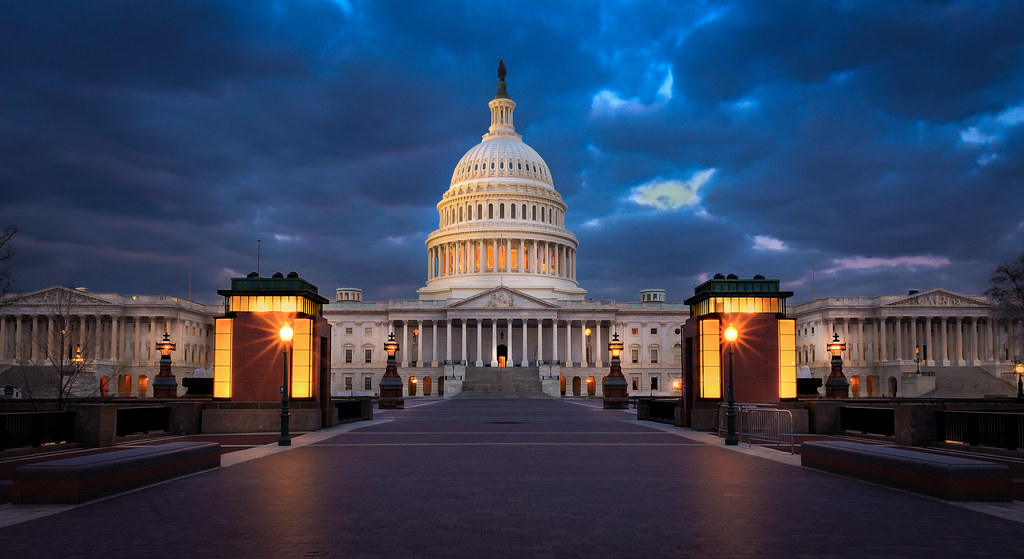 The Capital United States Capital Building After Sunset P Flickr