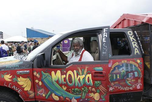 Mr Okra. Photo by Bill Sasser.