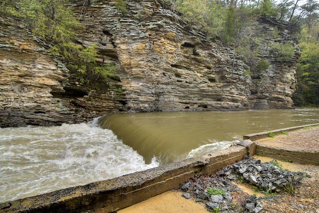 George Hole, Cane Creek, Fall Creek Falls SP, Van Buren Co, TN