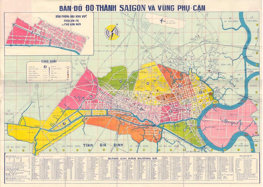 1975 Saigon Map   www.unclenguyen.com/pictures/collection/Sa ... on java sea map, jakarta map, cambodia map, quang nam province map, gulf of tonkin map, red river map, da nang map, ho chi minh city map, vientiane map, vietnam map, seoul map, bangkok map, bien hoa map, hanoi map, rangoon map, hue map, shanghai map, manila map, dien bien phu map, guam map,