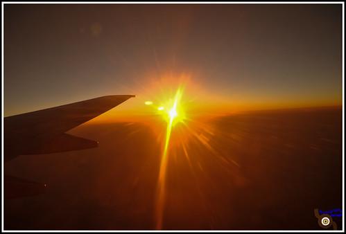 travel sunset india horizon flight maharashtra arielview apatwane