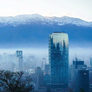 Wet Winter Weather Brings A Rare Foggy Day To Santiago C Flickr