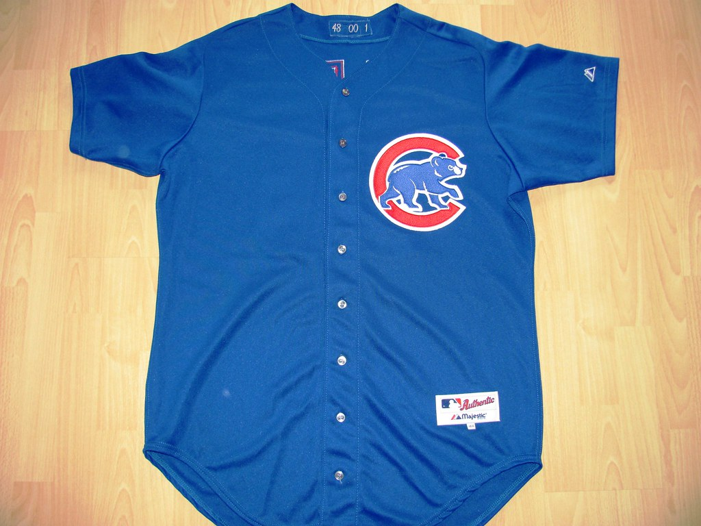 buy popular adb54 0a1a6 Chicago Cubs 2000 alternate Game Worn Jersey | The Chicago C ...
