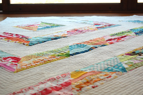 Miss A's Scrappy Strings AKA The Little Quilt That Could
