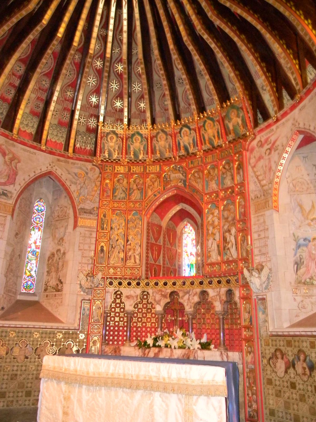 Interior, Hascombe Church Milford to Godalming