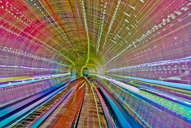 Bund Sightseeing Tunnel In One Shot