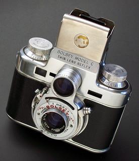 Bolsey Model C 35mm Twin Lens Reflex - 1950