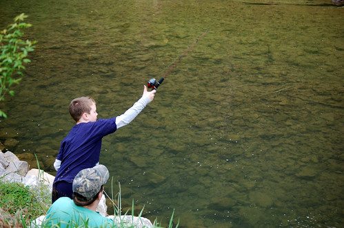 Annual Kids Fishing Day at Natural Tunnel State Park | by vastateparksstaff