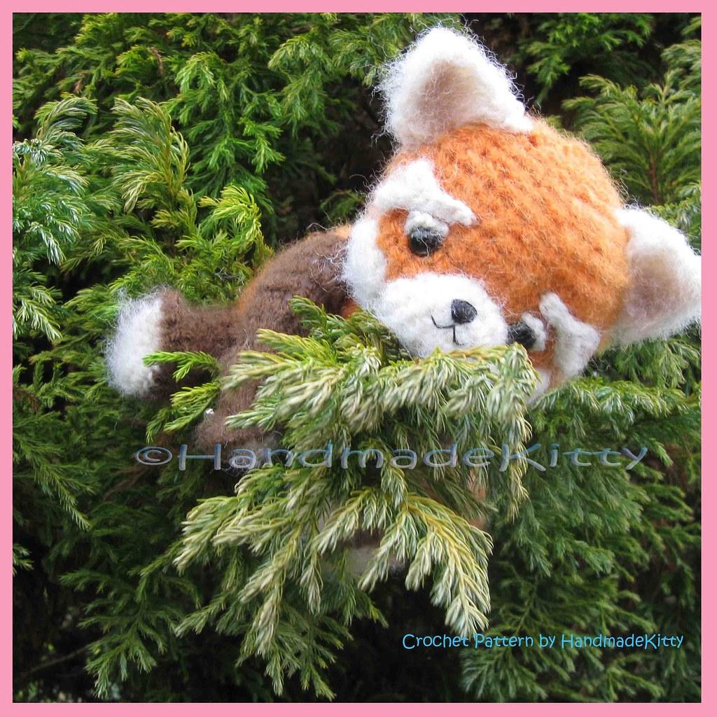 red panda amigurumi | The red panda amigurumi pattern is fin… | Flickr | 1024x1024