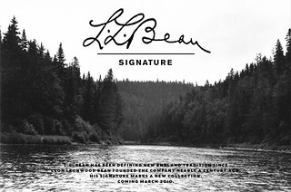 LLBean Signature | by we3ink