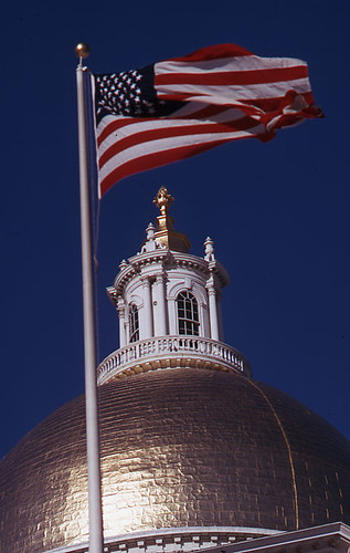 Dome of the Massachusetts State House | by Boston City Archives